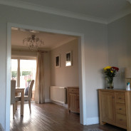 lounge and dining room decorated in worthing