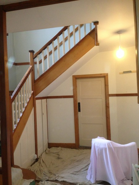 Decorating Hall and stairway for Brighton Property Pic 1