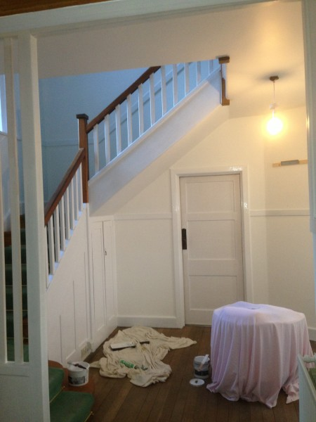 Decorating Hall and stairway for Brighton Property Pic 2