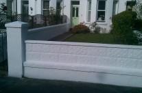 Garden walls painted ,Alldaypropertymaintenance